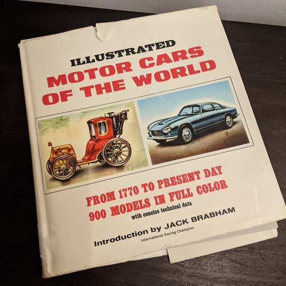 1967 Illustrated Motor Cars of the World